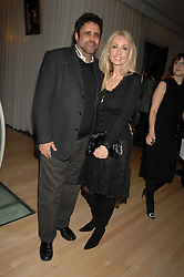 JEFFREY CHODOROW and his wife LINDA at a party to celebrate the launch of the Suka restaurant at the Sanderson Hotel, berners Street, London on 15th March 2007.<br /><br />NON EXCLUSIVE - WORLD RIGHTS