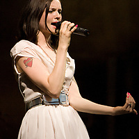Sophie Ellis-Bextor performing live at Summer Sundae 2007 festival, De Montfort Hall, Leicester, United Kingdom, 11th August 2007