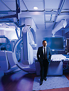 15 November 2017- Dr. Vishal Jani is photographed at Immanuel Hospital for Omaha Magazine.