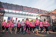 PHOENIX, AZ - APRIL 09: The D-backs host their 5th annual Race Against Cancer. (Photo by Sarah Sachs/Arizona Diamondbacks)