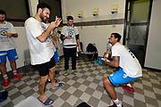 DESCRIZIONE : Final Eight Coppa Italia 2015 Finale Olimpia EA7 Emporio Armani Milano - Dinamo Banco di Sardegna Sassari<br /> GIOCATORE : Brian Sacchetti Edgar Sosa<br /> CATEGORIA : esultanza post game post game<br /> SQUADRA : Banco di Sardegna Sassari<br /> EVENTO : Final Eight Coppa Italia 2015<br /> GARA : Olimpia EA7 Emporio Armani Milano - Dinamo Banco di Sardegna Sassari<br /> DATA : 22/02/2015<br /> SPORT : Pallacanestro <br /> AUTORE : Agenzia Ciamillo-Castoria/Max.Ceretti
