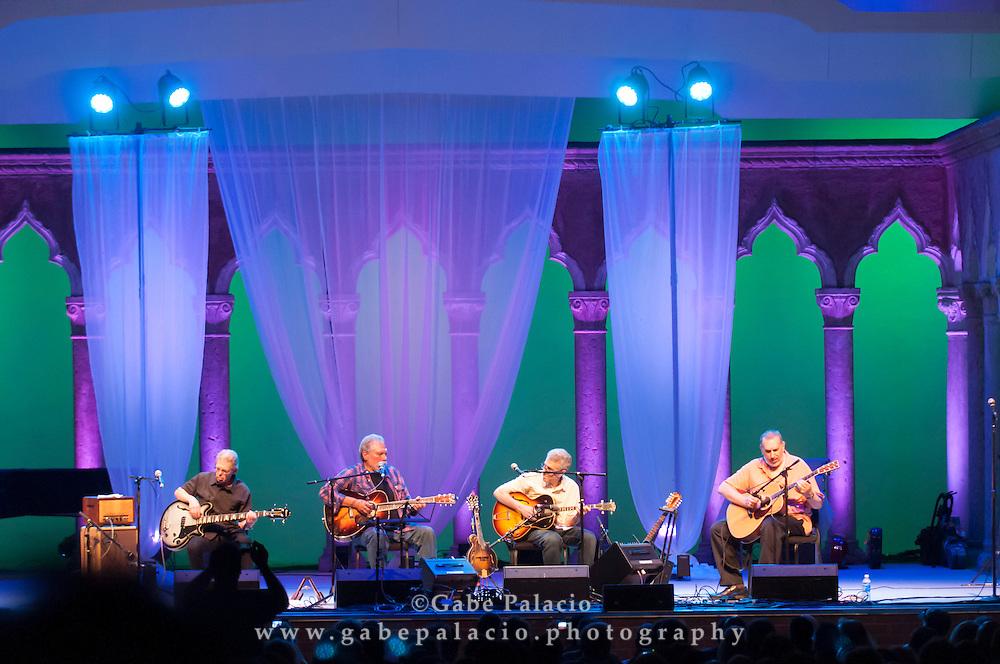 Hot Tuna Acoustic performing at the American Roots Music Festival at Caramoor in Katonah New York..photo by Gabe Palacio