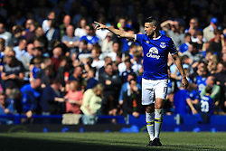 Everton's Kevin Mirallas celebrates after scoring his sides third goal  - Mandatory byline: Matt McNulty/JMP - 15/05/2016 - FOOTBALL - Goodison Park - Liverpool, England - Everton v Norwich City - Barclays Premier League