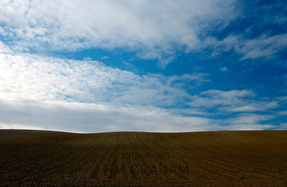 Burford ploughed field, Cotswolds