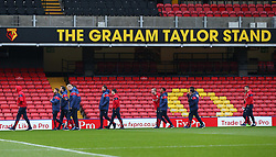 Bristol City arrive at Vicarage Road for the FA Cup third round tie against Watford  - Mandatory by-line: Robbie Stephenson/JMP - 06/01/2018 - FOOTBALL - Vicarage Road - Watford, England - Watford v Bristol City - Emirates FA Cup third round proper