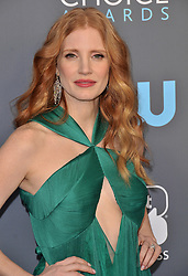 Jessica Chastain at The 23rd Annual Critics' Choice Awards held at the Barker Hangar on January 11, 2018 in Santa Monica, CA, USA (Photo by Sthanlee B. Mirador/Sipa USA)