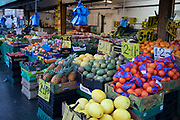 Fruit and vegetable shop in Leytonstone in East London, United Kingdom. Leytonstone is an area of East London, and part of the London Borough of Waltham Forest.