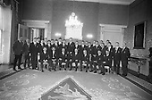 Rugby 1967 - 22/04 Irish Rugby Team departs for Australian Tour