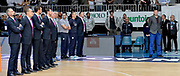 DESCRIZIONE : Cantu' Lega A 2015-16 Acqua Vitasnella Cantu' vs Olimpia EA7 Emporio Armani Milano<br /> GIOCATORE : Dmitry Gerasimenko Staff tecnico<br /> CATEGORIA : Inno Nazionale<br /> SQUADRA : Acqua Vitasnella Cantu'<br /> EVENTO : Campionato Lega A 2015-2016<br /> GARA : Acqua Vitasnella Cantu' Olimpia EA7 Emporio Armani Milano<br /> DATA : 29/11/2015<br /> SPORT : Pallacanestro <br /> AUTORE : Agenzia Ciamillo-Castoria/I.Mancini<br /> Galleria : Lega Basket A 2015-2016  <br /> Fotonotizia : Cantu'  Lega A 2015-16 Acqua Vitasnella Cantu' Olimpia EA7 Emporio Armani Milano<br /> Predefinita :