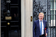 Digital, Culture, Media and Sport Secretary Oliver Dowden leave Downing Street, Westminster, London on Wednesday, Sept 16, 2020. (VXP Photo/ Vudi Xhymshiti)