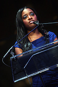 """15 November 2010- New York, NY- Tamika Mallory, National Executive Director, NAN at The National Action Network's 1st Annual Triumph Awards honoring """"Our Best"""" in the Arts, Entertainment, & Sports held at Jazz at Lincoln Center on November 15, 2010 in New York City. Photo Credit: Terrence Jennings"""