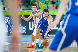 Andrej Magdevski (team blue) of Macedonia during basketball match U18 All Star Game 2013 at Day 18 of Eurobasket 2013 on September 21, 2013 in SRC Stozice, Ljubljana, Slovenia. (Photo By Urban Urbanc / Sportida)