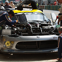 #93 SRT Viper GTS-R, SRT Motorsports USA, drivers: Bomarito, Kendall, Wittmer, Le Mans 24H 2013
