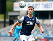 Matt Smith of Millwall in action during EFL Sky Bet Championship between Millwall and Derby County at The Den Stadium, Saturday, June 20, 2020, in London, United Kingdom. (ESPA-Images/Image of Sport)