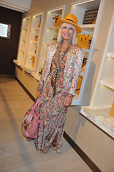 VIRGINIA BATES at a party to launch the Godiva Chocolate Cafe at Harrods, London held on 24th May 2012.