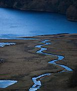 Glenealo River and Upper Lake, Glendalough, Wicklow, Ireland