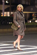 """Sienna Miller at set of """"The Loudest Voice"""" - 07 Dec 2018"""