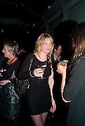 SARA GILMOUR;, Party for Perfect Lives by Polly Sampson. The 20th Century Theatre. Westbourne Gro. London W11. 2 November 2010. -DO NOT ARCHIVE-© Copyright Photograph by Dafydd Jones. 248 Clapham Rd. London SW9 0PZ. Tel 0207 820 0771. www.dafjones.com.