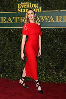 Laura Carmichael, London Evening Standard Theatre Awards, Theatre Royal Drury Lane, London UK, 03 December 2017, Photo by Richard Goldschmidt