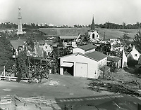 1961 Sets at 20th Century Fox Studios in West Los Angeles