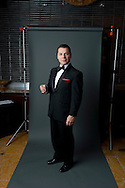 24th February 2011. Las Vegas, Nevada.  Celebrity Impersonators from around the globe were in Las Vegas for the 20th Annual Reel Awards Show. Pictured is Nick D'Egidio, a well-established Frank Sinatra impersonator from Los Angeles. Photo © John Chapple / www.johnchapple.com..