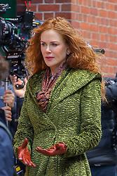 Nicole Kidman seen filming 'The Undoing' in New York City. 18 Mar 2019 Pictured: Nicole Kidman. Photo credit: MEGA TheMegaAgency.com +1 888 505 6342