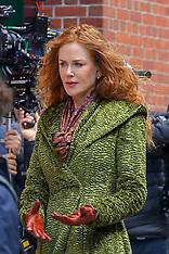 Nicole Kidman seen filming 'The Undoing' in New York City - 19 March 2019