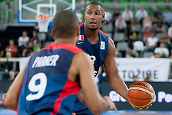 Boris Diaw of France during last friendly match before Eurobasket 2013 between National teams of Slovenia and France on August 31, 2013 in SRC Stozice, Ljubljana, Slovenia. (Photo by Urban Urbanc / Sportida.com)
