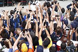 November 17, 2019, Sao Paulo, Brazil: Motorsports: FIA Formula One World Championship 2019, Grand Prix of Brazil, .fans  (Credit Image: © Hoch Zwei via ZUMA Wire)