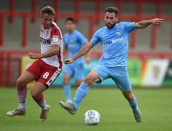 Coventry City's Toni Andreu and Stevenage's Joel Byrom