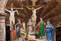 Crosses, Sanctuary of Atotonilco, near San Miguel de Allende, Guanajuato State, Mexico