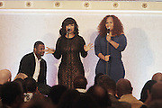 New York, NY-January 31:  Recording Artist Mary Mary perform at ' the Access to Capital ' Luncheon held during the 16th Annual Wall Street Project Economic Summit held at the Roosevelt Hotel on January 31, 2013 in New York City. The Rainbow PUSH Coalition is a progressive organization protecting, defending and expanding civil rights to improve economics and educational opportunity.  (Terrence Jennings)