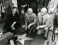 1980 Johnny Grant's Walk of Fame ceremony