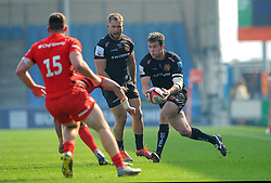 Ian Whitten of Exeter Braves runs with the ball- Mandatory by-line: Nizaam Jones/JMP - 22/04/2019 - RUGBY - Sandy Park Stadium - Exeter, England - Exeter Braves v Saracens Storm - Premiership Rugby Shield