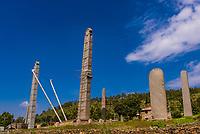 Northern Stelae Park (Obelisk of Axum), Axum (Aksum), Ethiopia.