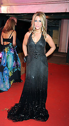 Singer HEIDI RANGE from The Sugababes at the End of Summer Ball in support of The Prince's Trust in Berkeley Square, London on 25th September 2008.