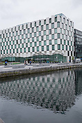 The Maker Hotel at the Grand Canal Quay on 06th April 2017 in Dublin, Republic of Ireland. Dublin is the largest city and capital of the Republic of Ireland.