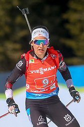 Zdouc Dunja of Austria competes during the IBU World Championships Biathlon 4x6km Relay Women competition on February 20, 2021 in Pokljuka, Slovenia. Photo by Vid Ponikvar / Sportida