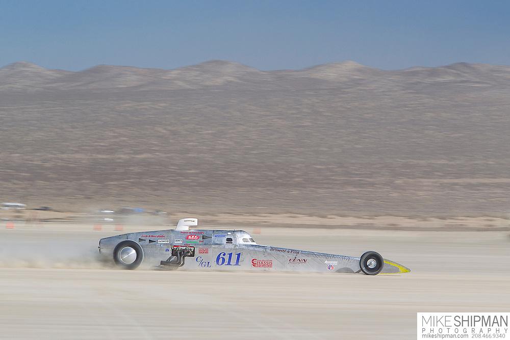 Brissette & Fenn, 611, eng C, body FL, driver Ed Fenn, 240.798 mph, previous record 235.600