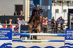 Chimirri Bruno, ITA, Tower Mouche<br /> European Championship Jumping<br /> Rotterdam 2019<br /> © Hippo Foto - Dirk Caremans<br /> Chimirri Bruno, ITA, Tower Mouche