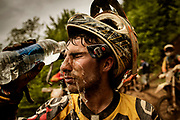 Year after year, only a chosen few cross the finishing line within 4 hours. Tired and worn out, but knowing that they have achieved something incredible. The other riders is getting beaten by the mountain.