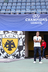 October 2, 2018 - Na - Athens, 10/01/2018 - Sport Lisboa e Benfica held the training to adapt to the pitch of the Olympic Stadium in Athens for the game of the second day of the Champions League 2018/2019 against the AEK of Athens. Rui Costa  (Credit Image: © Atlantico Press via ZUMA Wire)