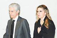 Adolfo Suarez Illana attends Princess PIlar Borbon funeral chapel  installed in the Gomez-Acebo house on January 8, 2020 in Madrid, Spain