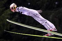 Hopp, 01.12.2001 Titisee-Neustadt, Deutschland,<br />Der Deutsche Stefan Hocke am Samstag (01.12.2001) beim Weltcup Skispringen in Titisee-Neustadt, Schwarzwald.<br />Foto: ÊJAN PITMAN/Digitalsport