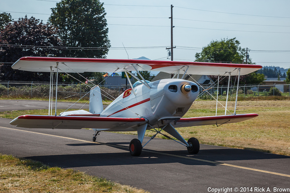 Homebuilt biplane at  Oregon Aviation Historical Society.
