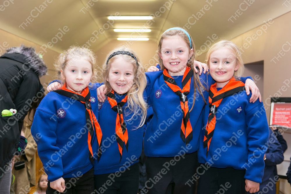 Moya Shields, Caoimhe Irwin, Lisa Shields & Lila De Eyto pictured in Ballyvaughan Community Hall .<br /> Picture Credit Brian Gavin Press 22