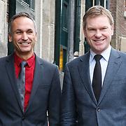 NLD/Naarden/20130329 - Mattheus Passion 2013, Peter Rehwinkel en partner Michel Zeegelaar