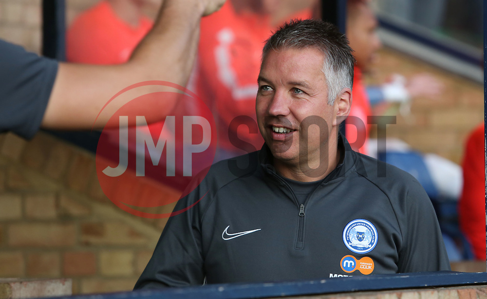 Peterborough United Manager Darren Ferguson - Mandatory by-line: Joe Dent/JMP - 20/08/2019 - FOOTBALL - Roots Hall - Southend-on-Sea, England - Southend United v Peterborough United - Sky Bet League One