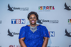 October 11, 2016 - Nashville, Tennessee, USA - Michelle Prather at the 47th Annual GMA Dove Awards  in Nashville, TN at Allen Arena on the campus of Lipscomb University.  The GMA Dove Awards is an awards show produced by the Gospel Music Association. (Credit Image: © Jason Walle via ZUMA Wire)