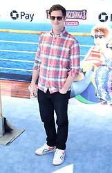 """Andy Samberg at the premiere of """"Hotel Transylvania 3: Summer Vacation"""" held at the Westwood Village Theatre in Los Angeles"""